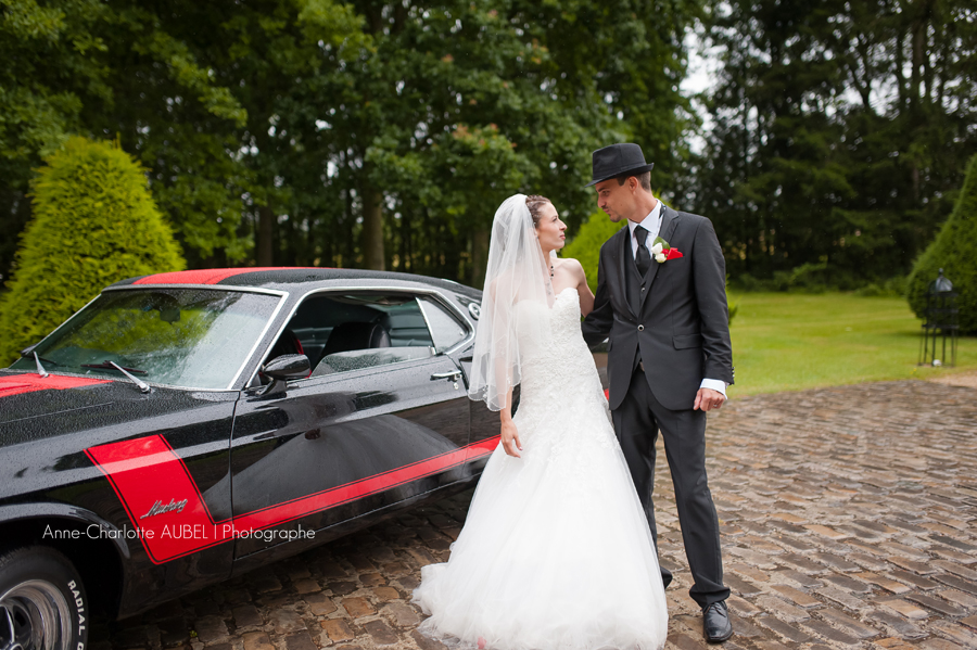 mariage ford mustang