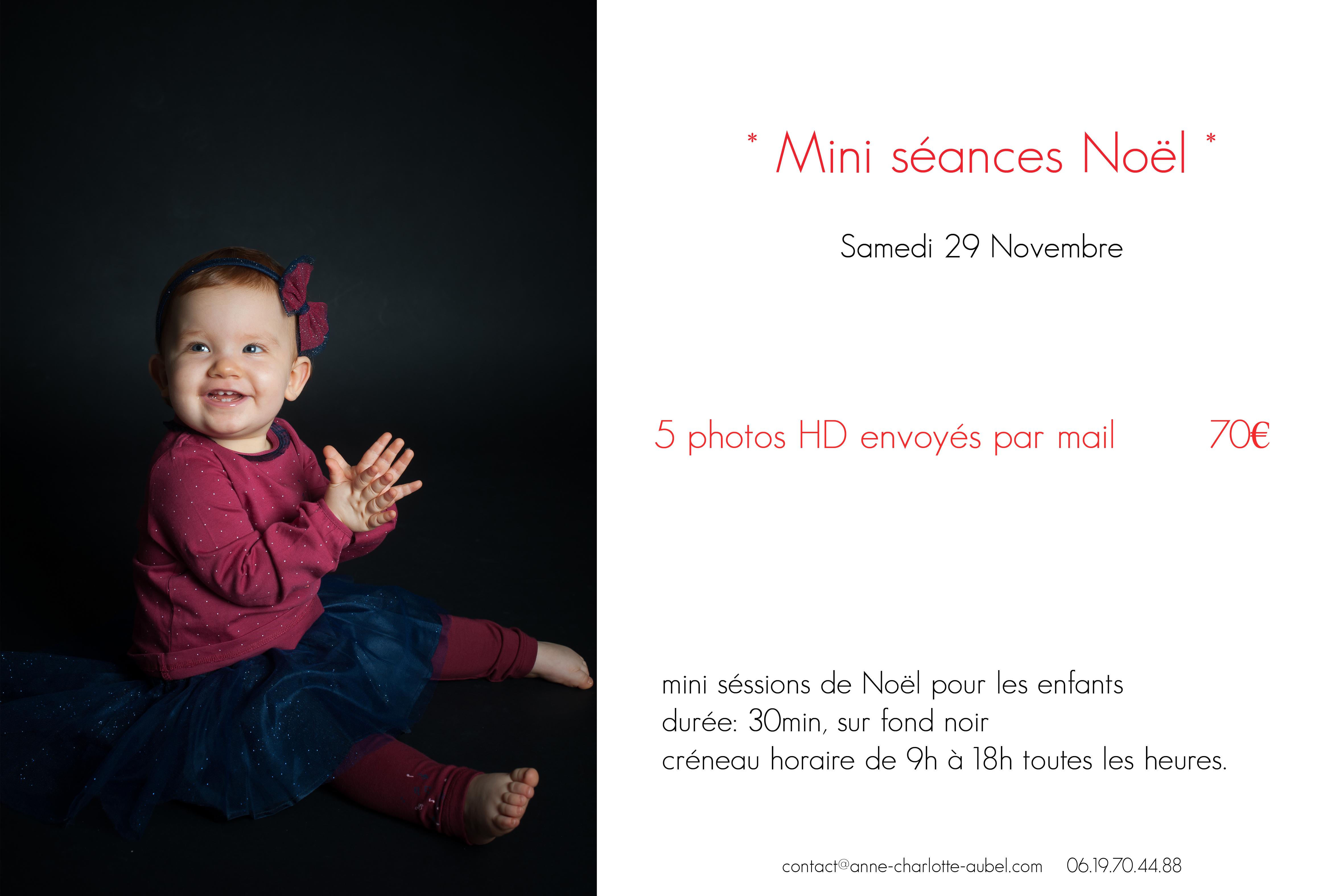 mini séance Noël | Photographe Yvelines