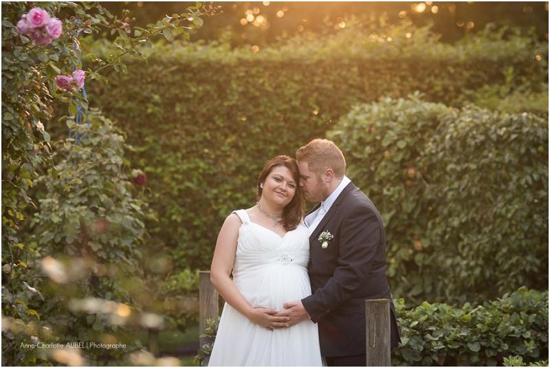 photo mariée enceinte