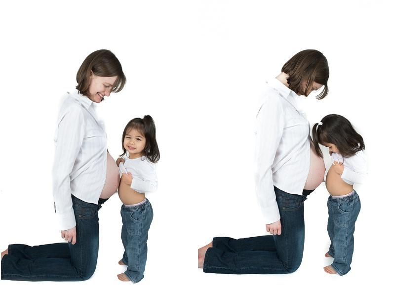 Séance grossesse famille