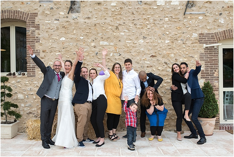 mariage photo groupe fun