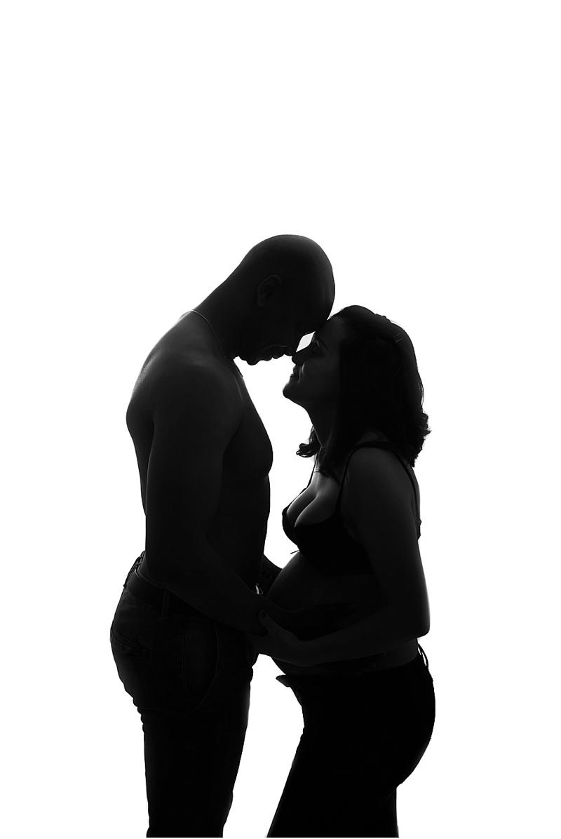 photos de grossesse en studio Yvelines