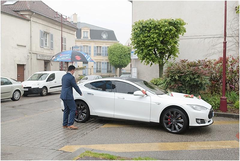 mariage en Tesla