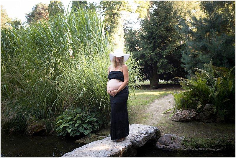 photo grossesse en extérieur – photographe Yvelines