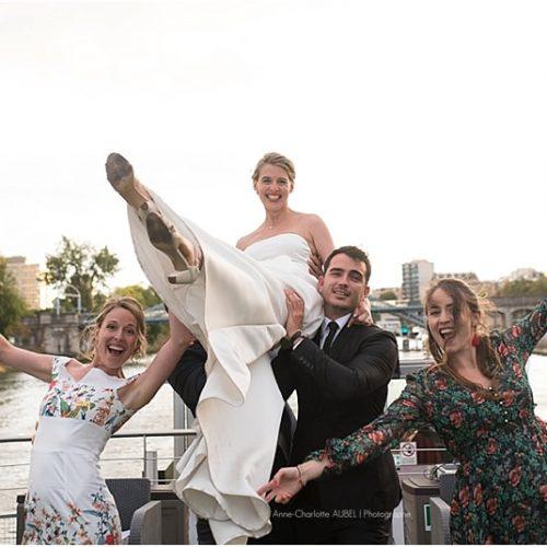 Mariage VIP Paris Yacht