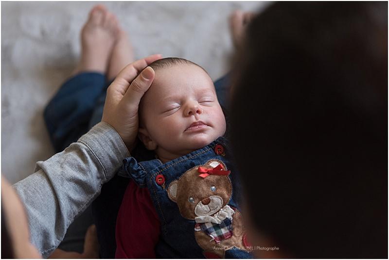 photographe bébé à domicile - Yvelines
