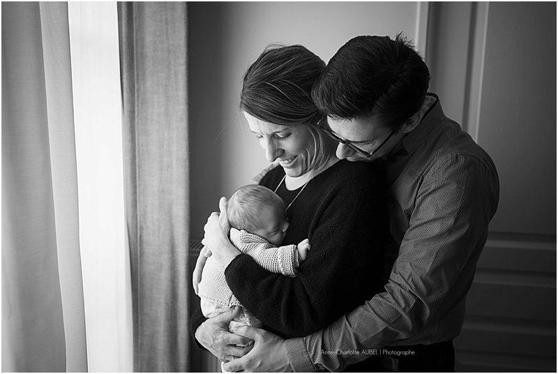 photos bébé à domicile