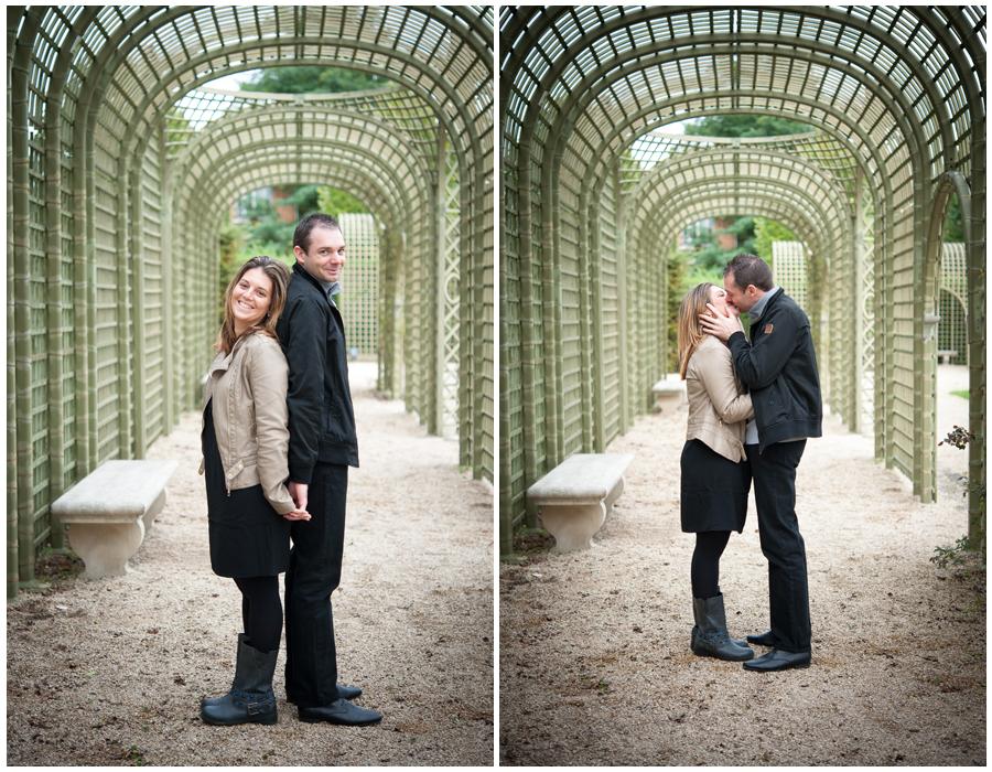 Shooting couple Parc de Sceaux 92   Anne-Sophie et Thomas
