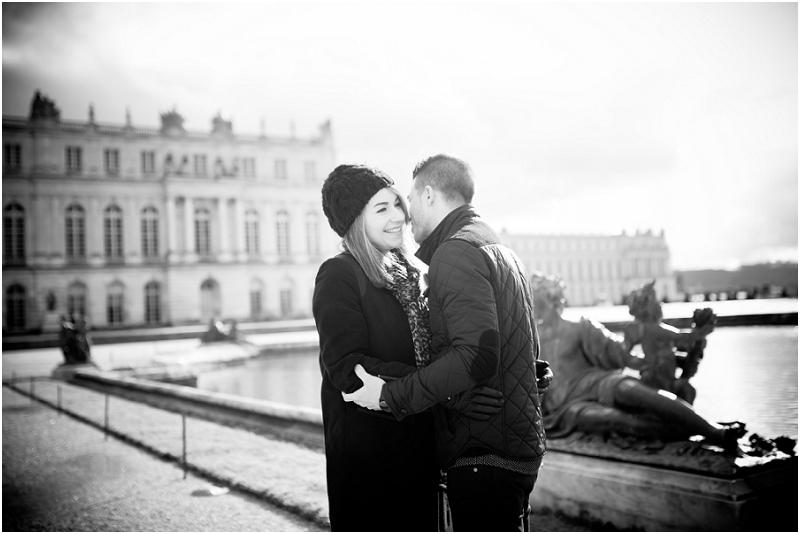 séance engagement Versailles | Caroline et Ludovic