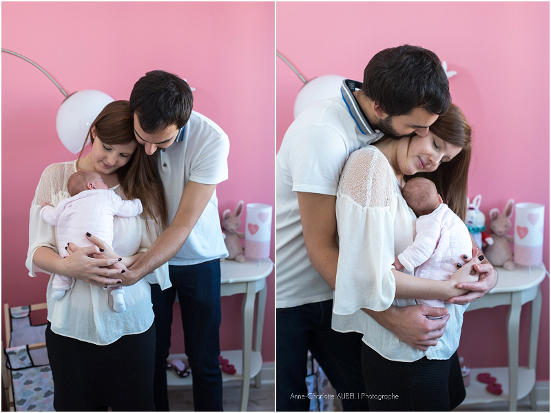 nouveau-né à domicile