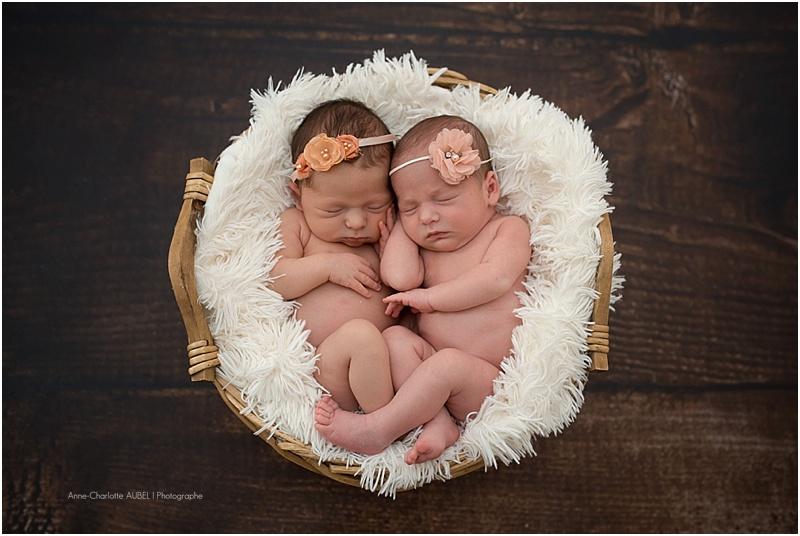 photos naissance jumelles – photographe Yvelines