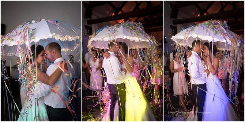 ouverture de bal parapluie