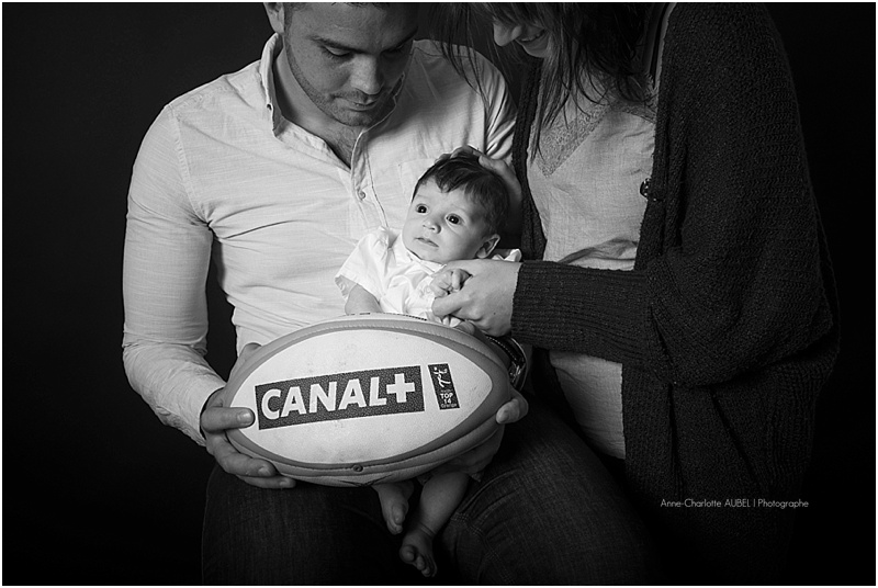 photo bébé rugby