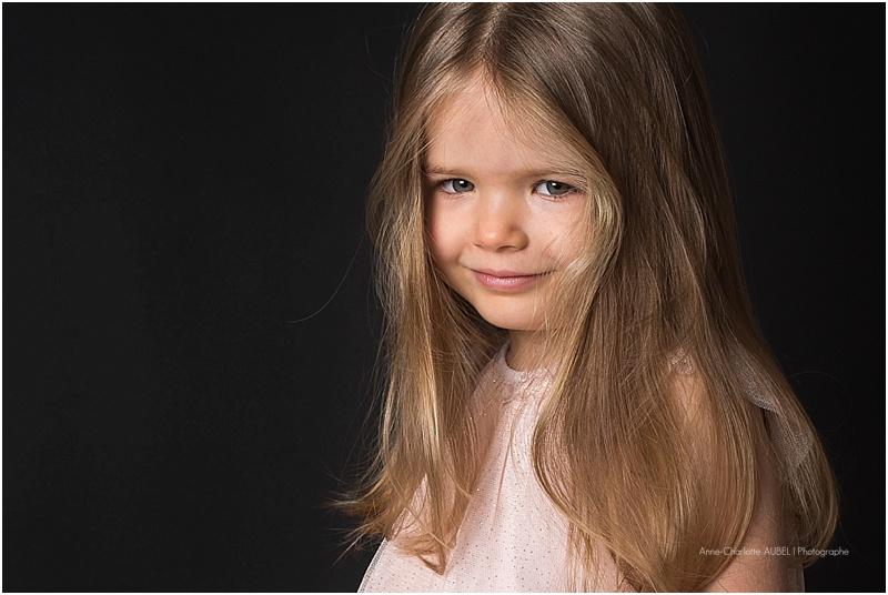 Portrait enfant studio
