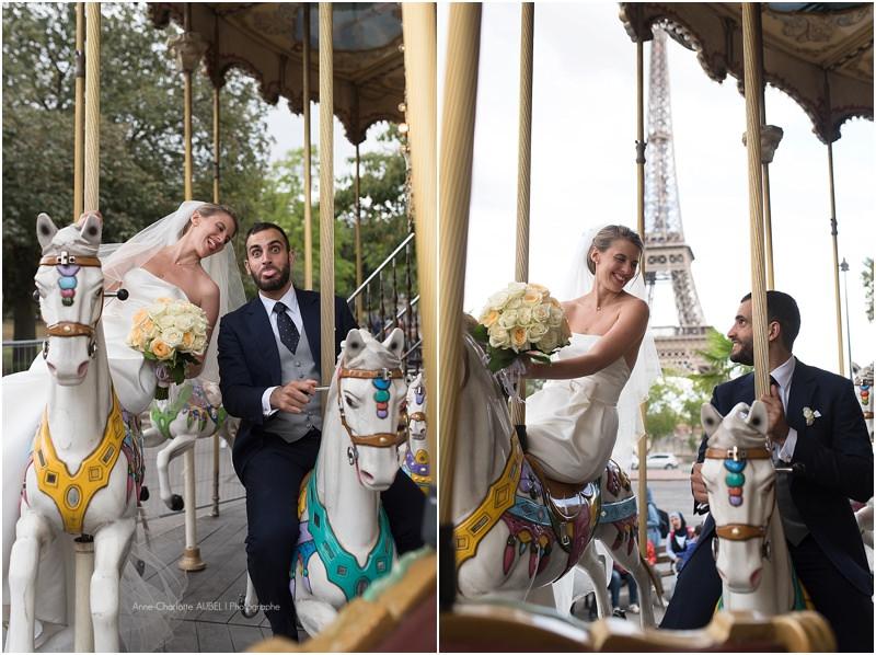 mariés au manège