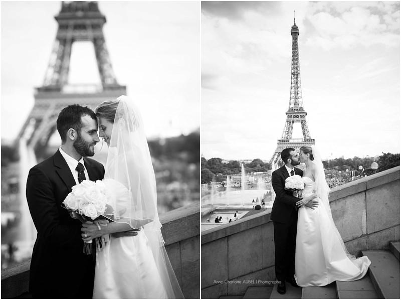 mariés au Trocadéro