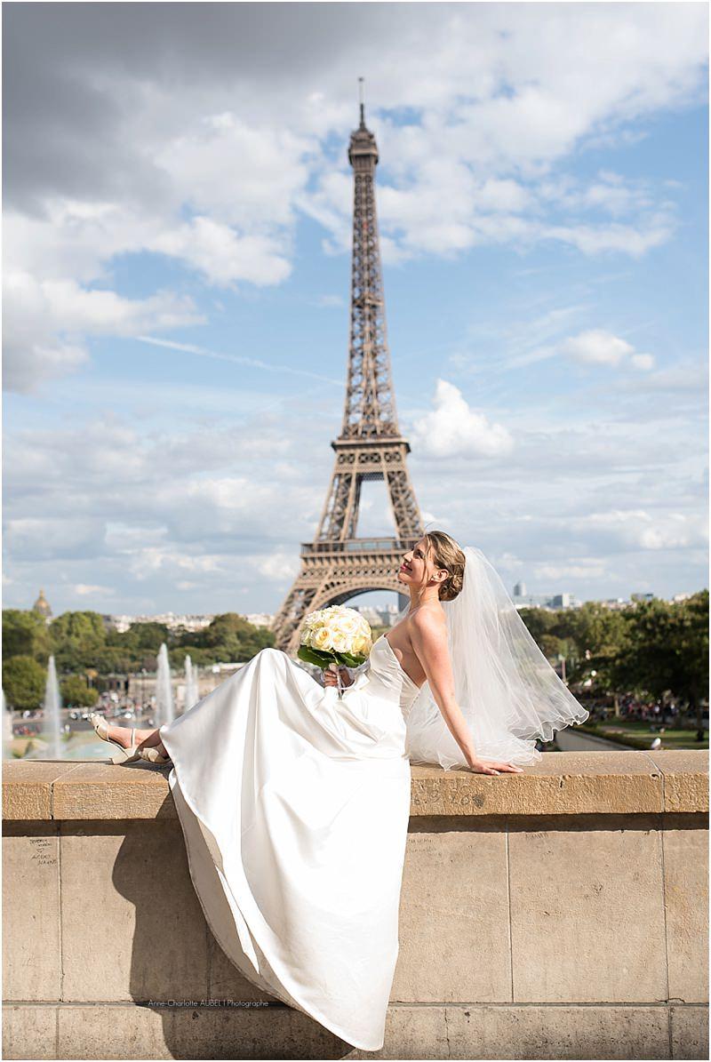 mariée Trocadéro