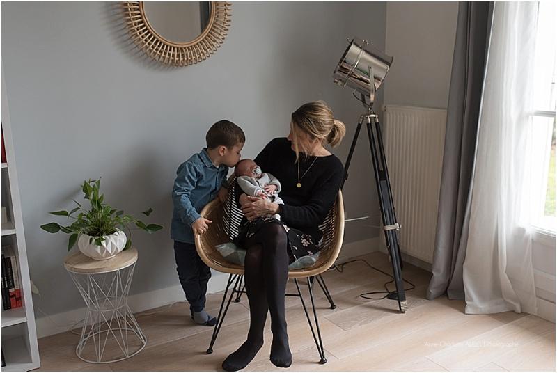 séance bébé à domicile - Photographe Yvelines