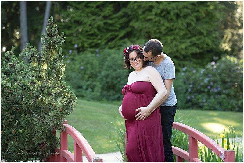 séance photo grossesse en extérieur