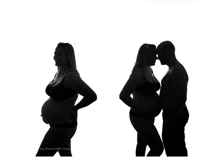 photos studio femme enceinte